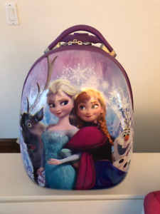 Frozen hard shell carry-on suitcase by Heys
