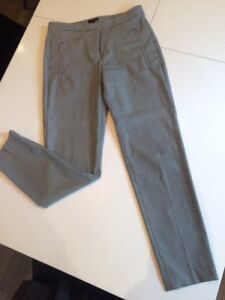 Women's Pants -- Theory Houndstooth Cropped Pants ... Size 2