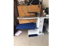 Professional Dry Cleaning Equipment / Sidi-Mondial Finishing Table, Vacuum, Blowing - S-931- Maxi/SV