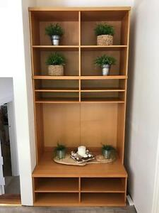Wooden TV/AV Unit and Bookcase/Storage Cupboard Mosman Mosman Area Preview
