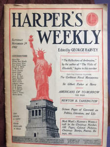 collectible.  Harpers  Magazine  1902