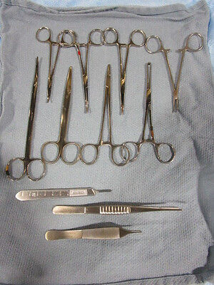 Perma-cath Medical Instrumentation Set