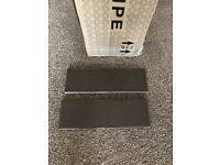 NEW grey tiles, grey leftover grout and leftover tile adhesive bundle