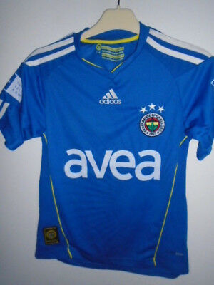 Fenerbahce 2010 2011 Away shirt 176cm youth Turkey