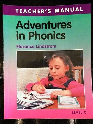 Adventures In Phonics Level C Teachers Manual By Florence Lindstrom  2000  Pb