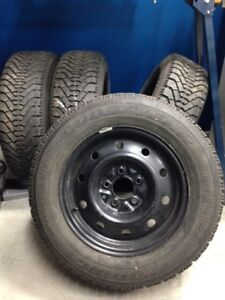 Winter Tires and Rims ...P205/65R-15