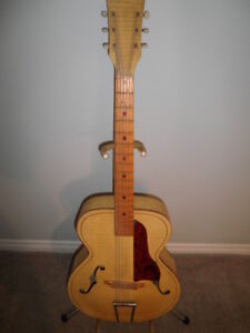 1960 Kay Hollow Body Acoustic Guitar.
