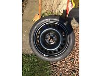 Spare wheel with tyre 125/70 R 17 - as new - Vauxhall Zafira B or C and Astra