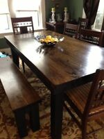 Custom Solid Wood Tables, Islands, Cutting Boards and Much More