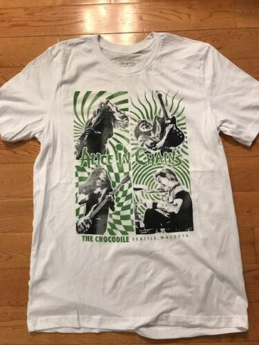 Alice In Chains shirt Seattle Crocodile Cafe Surprise show t shirt AIC Jerry 18!