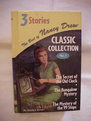 BEST OF NANCY DREW COLLECTION VOL 1 SECRET OLD CLOCK, BUNGALOW MYSTERY, 99 STEPS for sale  Shipping to Canada