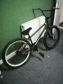 "24"" BMX / Jump Bike top spec parts brand new frame!"