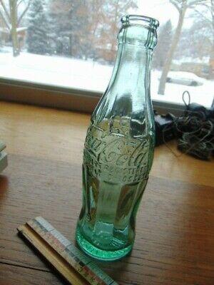 Vintage Coca-Cola green bottle- Hutchinson, Minn- Hobble skirt