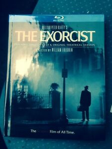 The Exorcist - blu ray - 2 disc with book packaging- mint!!