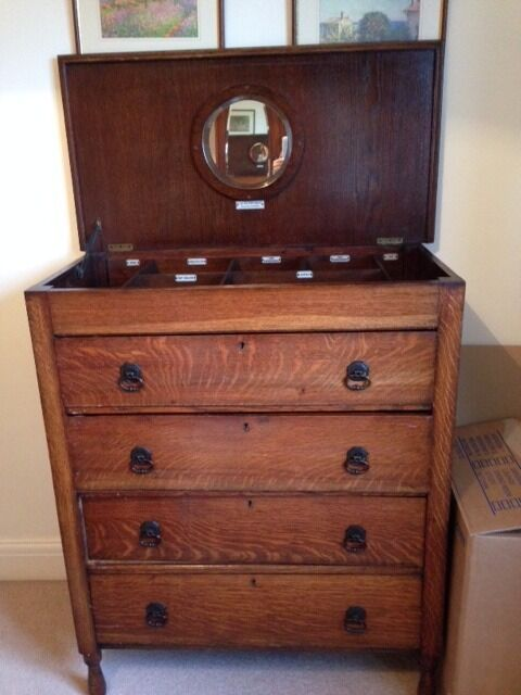 The Handychest Tall Bedroom Chest Of Drawers