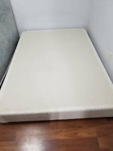 DOUBLE mattress and boxspring WITH memory foam!
