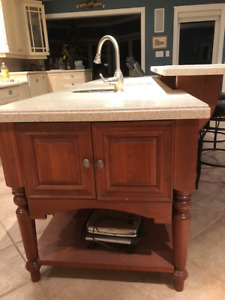 High end kitchen island has to go due to house makeover