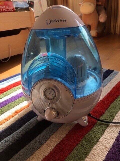 Babyway ultrasonic humidifier barely used