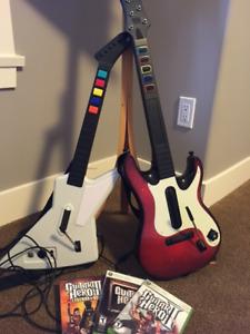 Guitar Hero Guitars and Software