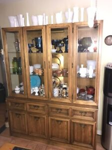 BUFFET CREDENZA CABINET ARMOIRE - MAKE ME AN OFFER