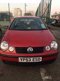 2003 VOLKSWAGEN POLO TWIST AUTOMATIC 1.4, FULL MOT, QUICK SALE, LOW MILEAGE, ONLY 3 PREVIOUS OWNERS