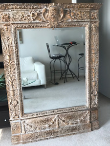 One of a kind  FLOOR or WALL MIRROR paid $1,900 selling $399