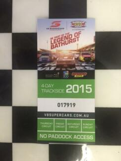Bathurst 1000 - General admission - 4 day pass Newcastle 2300 Newcastle Area Preview