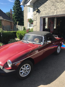 1978 MGB For Sale