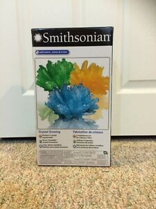 Smithsonian - Earth Science (Crystal Growing) (BRAND NEW in box)