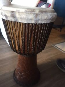Beautifull DJEMBE NOUVELLE GUINÉE (the best)