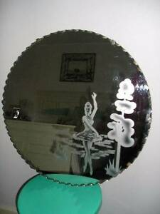 DECO HUGE PIE CRUST BALLERINA MIRROR Downer North Canberra Preview