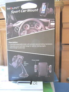 iMount Sport car mount for cell phone- new North Shore Greater Vancouver Area image 2