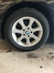 Snow Tires with BMW alloy rims