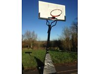Bee-Ball Optimum Basketball Goal Posts