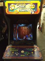 Chip Away Coin Operated Arcade Game