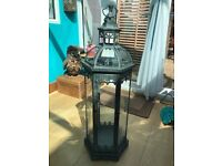 Victorian Style Candle Lamp