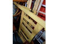 Solid Hardwood Single Bed Frame