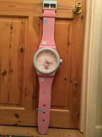Large Hello Kitty Clock