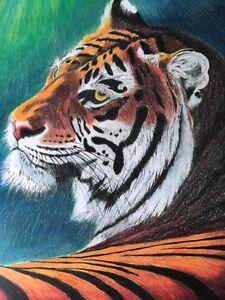 Tiger Original painting
