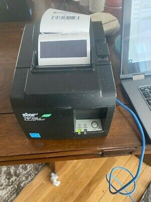 Star Micronics Tsp143iiu Tsp100ii Thermal Receipt Printer Read Description.