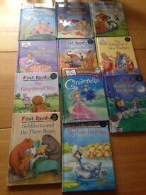 Children's stories - hardback bundle of 11