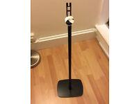 Flexon Floor Stand For Sonos Play 1 One Black