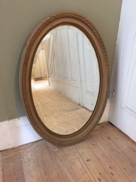 Antique Gold Oval Mirror In Chapel Allerton West Yorkshire Gumtree