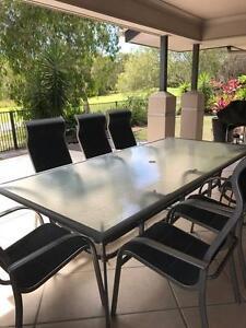 Outdoor 8 seat dining suite Peregian Beach Noosa Area Preview