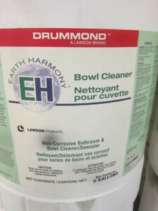 NEW TOILET BOWL CLEANER - $20.  JANITORIAL GRADE CONCENTRATED
