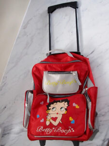Kid's backpack with wheels