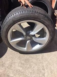 Holden Astra 19x8 Wheels and Tyres Bungalow Cairns City Preview