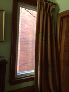 custom made curtains thick material/beautiful color