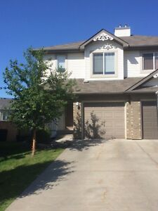 Sherwood Park Duplex with Large Private Yard for Rent