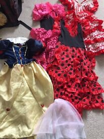 Dressing up - Girls - Age 4-8